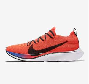 Nike Vaporfly 4% Flyknit Blue or Crimson nearly 1/2 Price £125.47 @ Nike Store