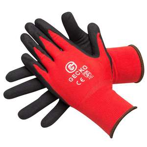 Protective gloves for £1.09 High Grip - £1.55 Cut resistant @ Eurocarparts