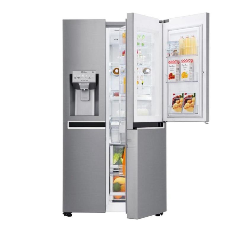 LG Door-in-Door Fridge Freezer / Water & Ice Dispenser / SmartThinQ App Compatible - Model GSJ961PZVV - £1,028 Using Code @ PRC Direct