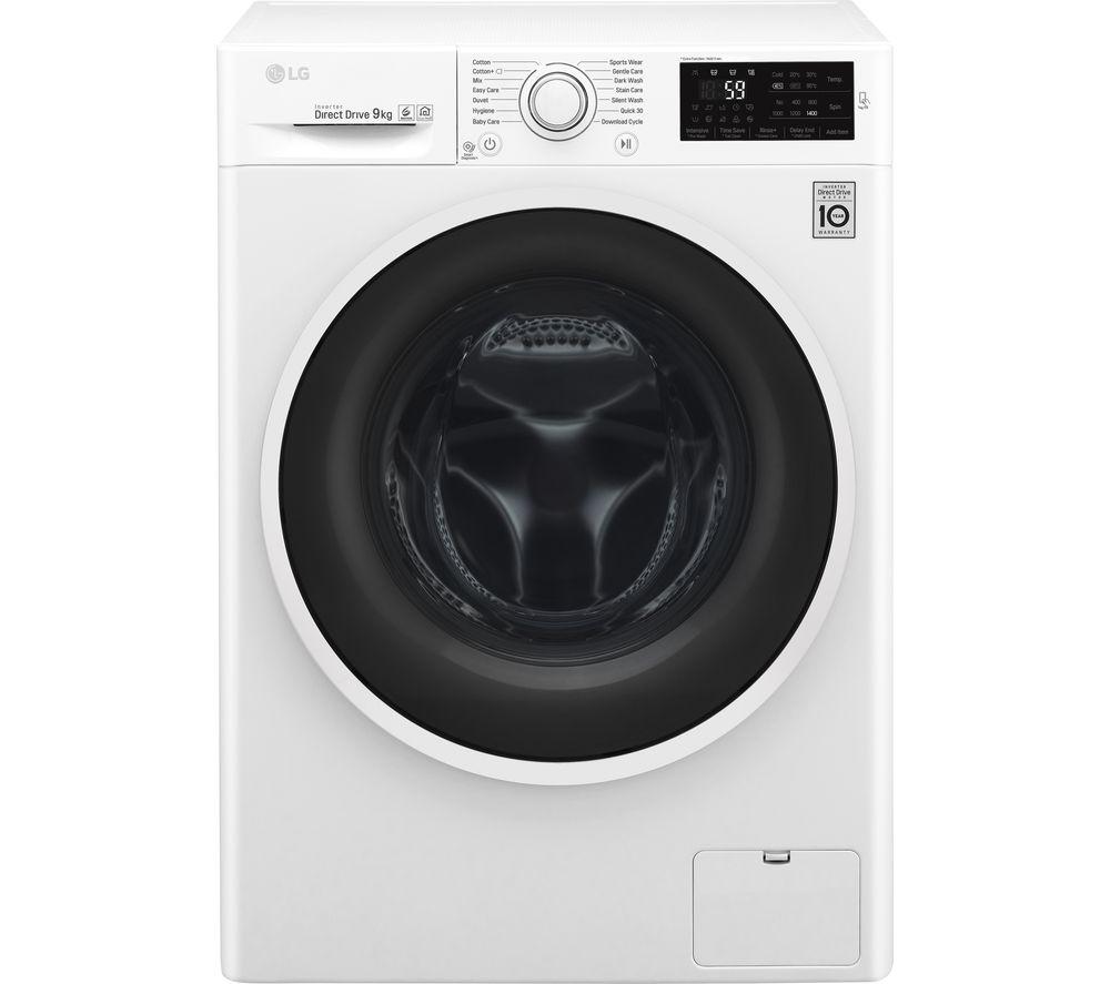 LG F4J609WN NFC 9 kg 1400 Spin Washing Machine - White £349 @ Currys PC World