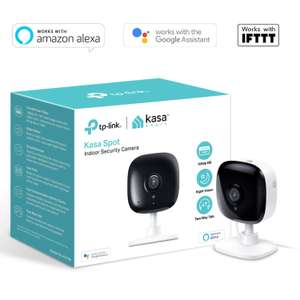 Kasa Smart Security Camera by TP-Link, Baby Monitor, Indoor CCTV, Works with Alexa/Google Home £29.99 at Amazon