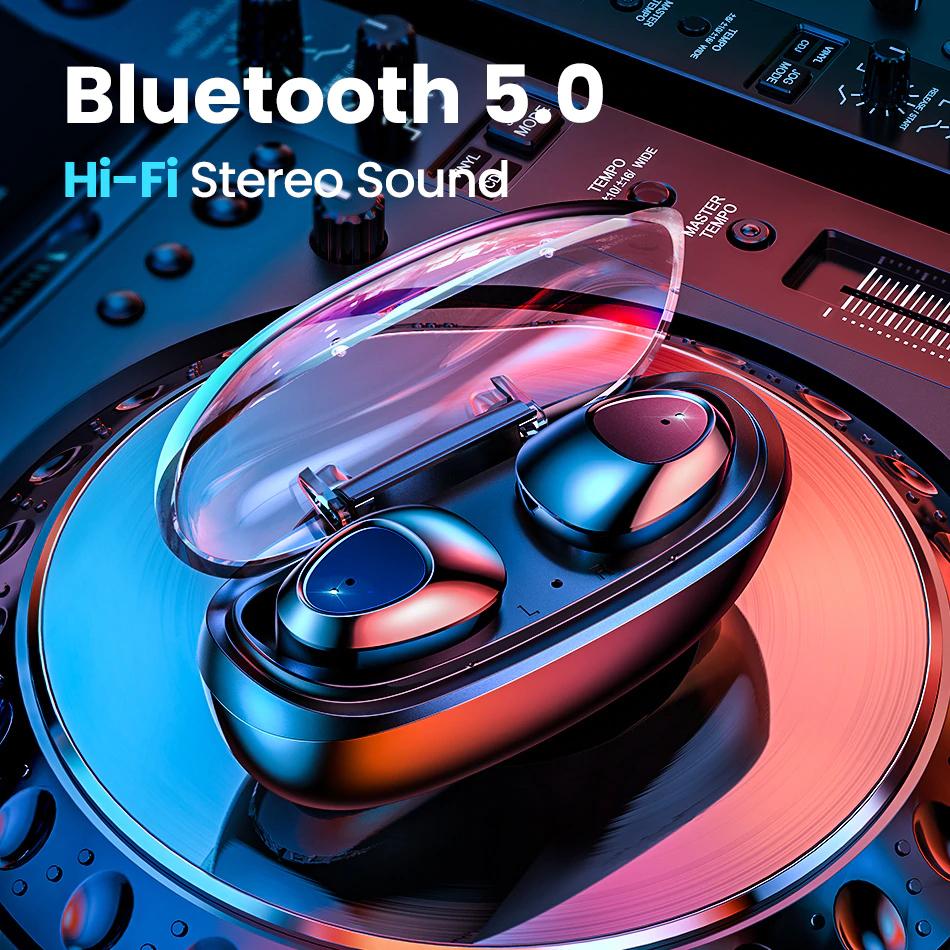 FIVI Bluetooth 5.0 Wireless Earphones £7.75 @ Aliexpress Shop4921059 Store