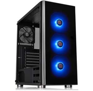 Thermaltake V200 RGB Tempered Glass Case + 550W 80 PLUS PSU + 3 TT RGB Fans £74.77 dpd click and collect @ Scan