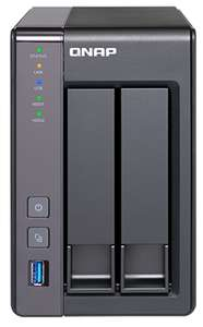 QNAP TS-251+ 2-Bay Network Attached NAS Storage Enclosure (2GB RAM) £218 @ BroadBand Buyer