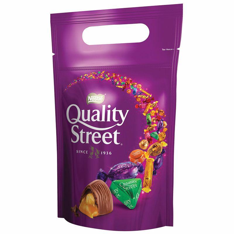 Quality Street Pouches - £3 (minimum purchase 3) £9 (Prime) £13.49 (Non Prime) @ Amazon
