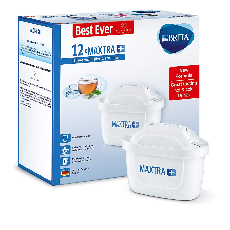 BRITA MAXTRA+ water filter cartridge -12 pack £39.99 at Amazon