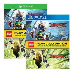 LEGO Ninjago Game & Film Double Pack PS4 for £15.85/Xbox £14.85 Delivered @ Base