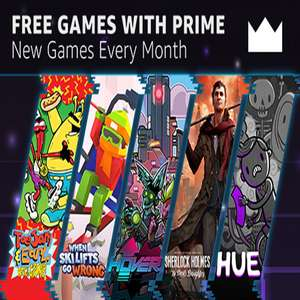 [PC] Twitch Prime games for December - ToeJam & Earl: Back in the Groove! / Sherlock Holmes: TDD / Hover / When Ski Lifts Go Wrong / Hue