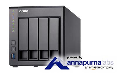 QNAP TS-431X 4 Bay - 2GB Diskless Desktop NAS £339.97 @ Servers Direct
