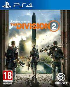 Tom Clancy's The Division 2 (PS4) used £9.99 @ boomerangrentals eBay