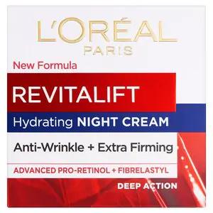 L'Oreal Paris Revitalift Anti-Wrinkle Night Cream 50ml £6.45 @ Superdrug