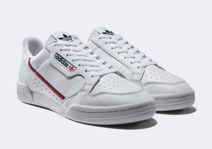 Adidas Men's Continental 80 Low-Top Sneakers £31.99 @ Amazon