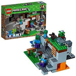 LEGO 21141 Minecraft The Zombie Cave Adventures Building Set with Steve £13 Prime / £17.49 Non Prime at Amazon