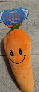 Kenny the Carrot Dog Toy 99p instore @ QD Wrexham