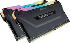 Corsair Vengeance RGB PRO 16 GB (2 x 8 GB) DDR4 3200 MHz C16 £76.99 @ Amazon
