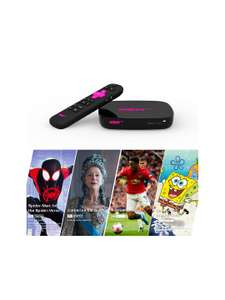 Now TV 4K Smart Box, with Voice Search and one month entertainment, movies and kids & sports day pass - £24 @ John Lewis & Partners