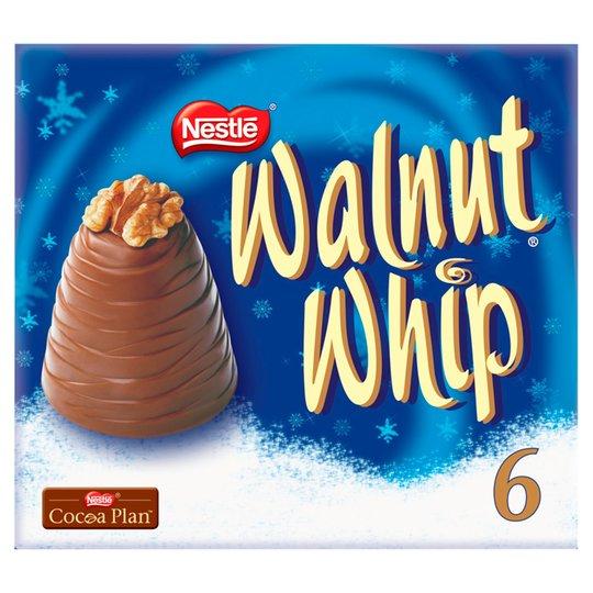 Walnut Whip 6 pack £2 in Poundland