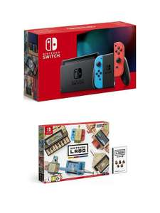 Nintendo Switch Console  (Improved Battery) With LABO Pack And Optional Extras - £299.99 (£253.98 new credit customers With Code) @ Very