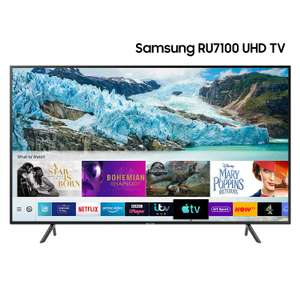 Samsung 50-Inch Ru7100 HDR Smart 4K TV [Energy Class A] Used - Good £280.90 at Amazon Warehouse