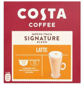 Costa Coffee Pods Dolce Gusto - £3 @ Iceland