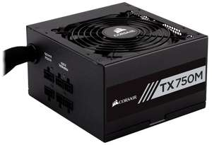 Corsair TX750M 750W Modular 80+ Gold PSU - £69.99 @ CCL