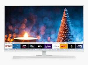 """Samsung UE50RU7410 50"""" Ultra HD certified HDR Smart 4K TV, White + 2 x Free 4K Blu-ray Films £386.95 delivered with code @ PRC Direct"""