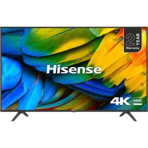 HISENSE H50B7100UK 50-Inch 4K UHD HDR Smart TV with Freeview Play (2019) - £299 Delivered @ AO