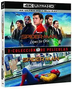 Spider-Man Homecoming/Far From Home double pack (4K+blu-ray) £20.43 delivered @ Amazon Spain