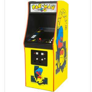 Pac-Man and Galaga replica 1/4 scale arcade cabinets by Numskull £99.99 @ Game