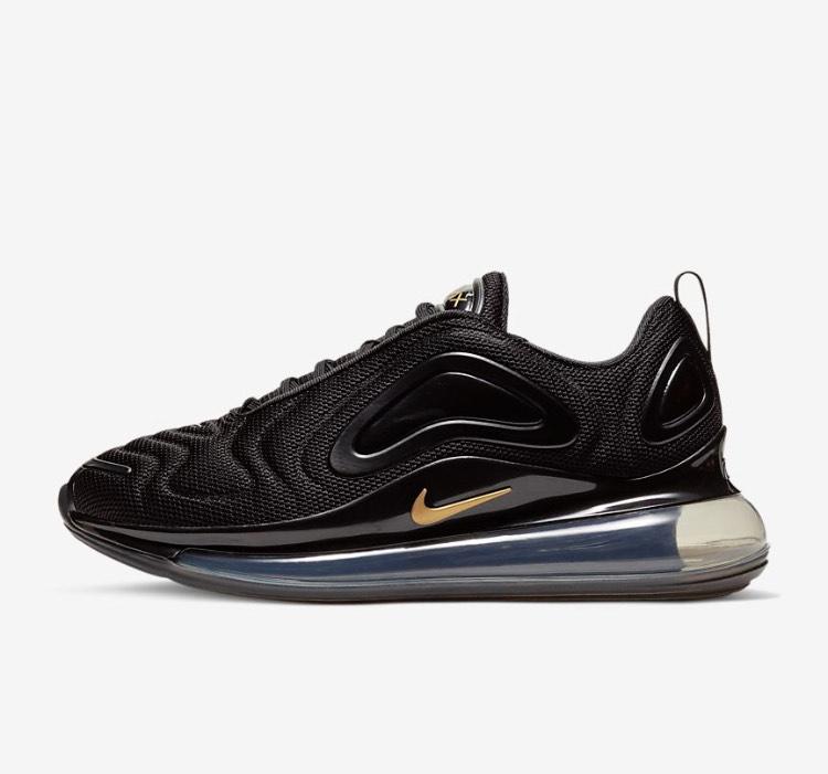 Unisex Nike Air Max 720 Black & Gold £53.88 @ Nike