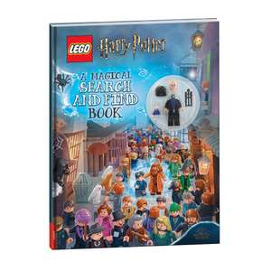 Lego Harry Potter search and find book with Minifigure @ Home Bargins (Folkestone)
