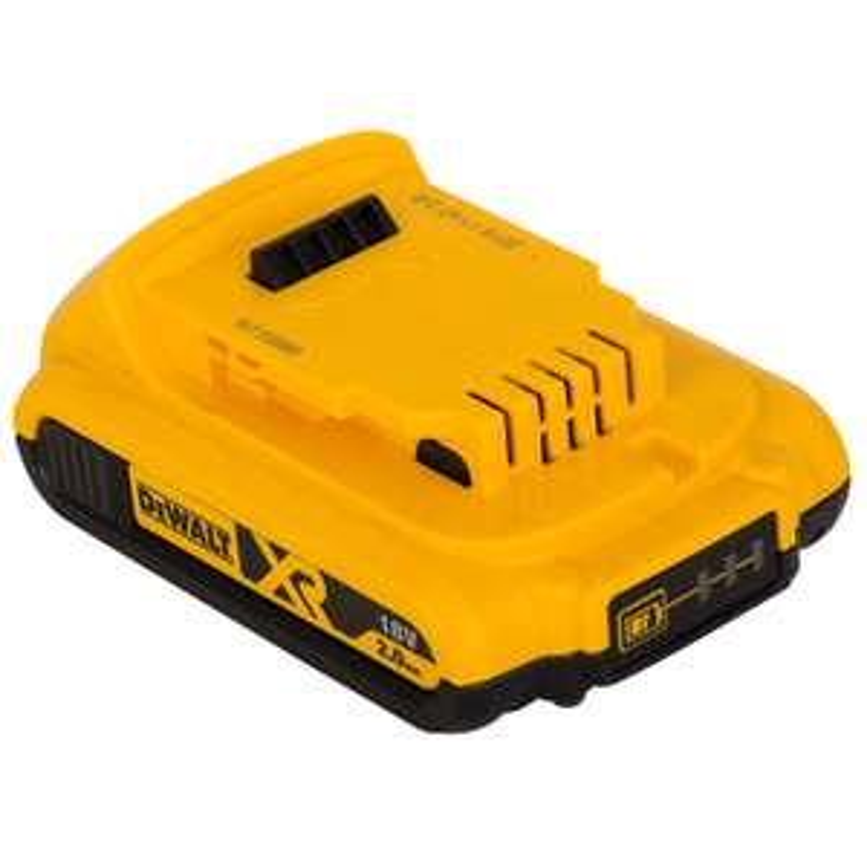 Dewalt DCB183 2 Ah Li-Ion Battery Pack, 18 V, Black/Yellow £24.95 @ Amazon