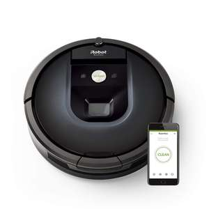 iRobot Roomba 981 Robot Vacuum cleaner ideal for carpets boost - multi room navigation - Dirt Detect technology £522.36 @ Amazon