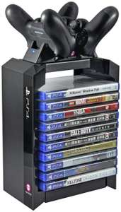 Sony Official Games Tower and Fast Charging Station for PS4 - £16.99 @ Argos
