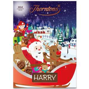 Free Thorntons Advent calender on Vodafone Veryme