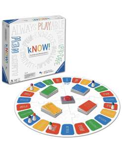 Ravensburger Know: The Always Up To Date Quiz Game £16.90 (Prime) / £21.39 (non Prime) at Amazon