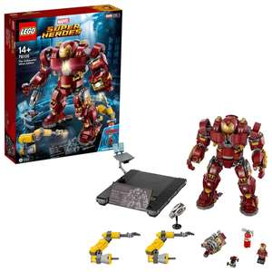 LEGO 76105 The Hulkbuster: Ultron Edition Set £90.99 (Collection only) @ Symths