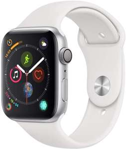 Apple Watch Series 4 (GPS, 44mm) - Silver or Pink Aluminium Case with White Sport Band £329 Amazon
