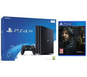 SONY PlayStation 4 Pro & Death Stranding - Black / White + 6 month Spotify Premium £272.19 delivered @ Currys