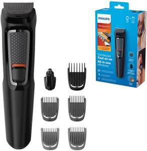 Philips Series 3000 7-in-1 Multi Grooming Kit for Beard and Hair with Nose Trimmer Attachment £15 at Amazon Prime (£19.49 non Prime)