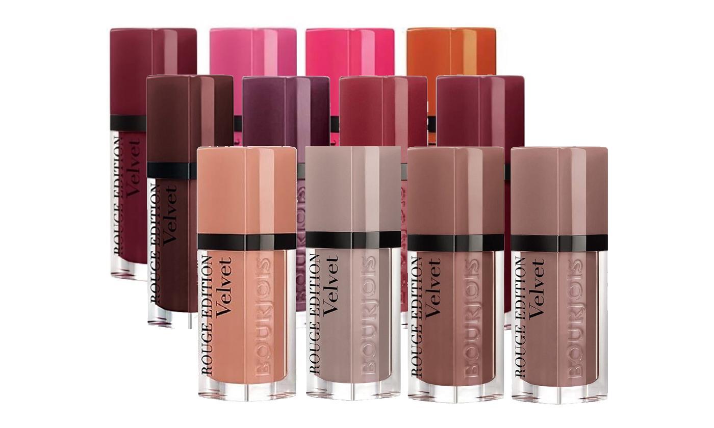 Bourjois Rouge Velvet Lipstick 4 Pack £5.55 + £1.99 Shipping (3 Options) Groupon