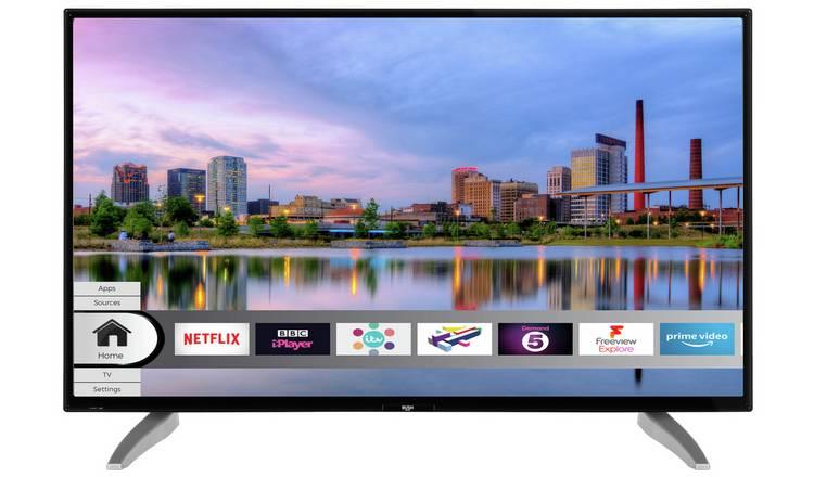 Bush DLED40UHDHDRS 40 Inch Smart 4K TV £199.99 Argos