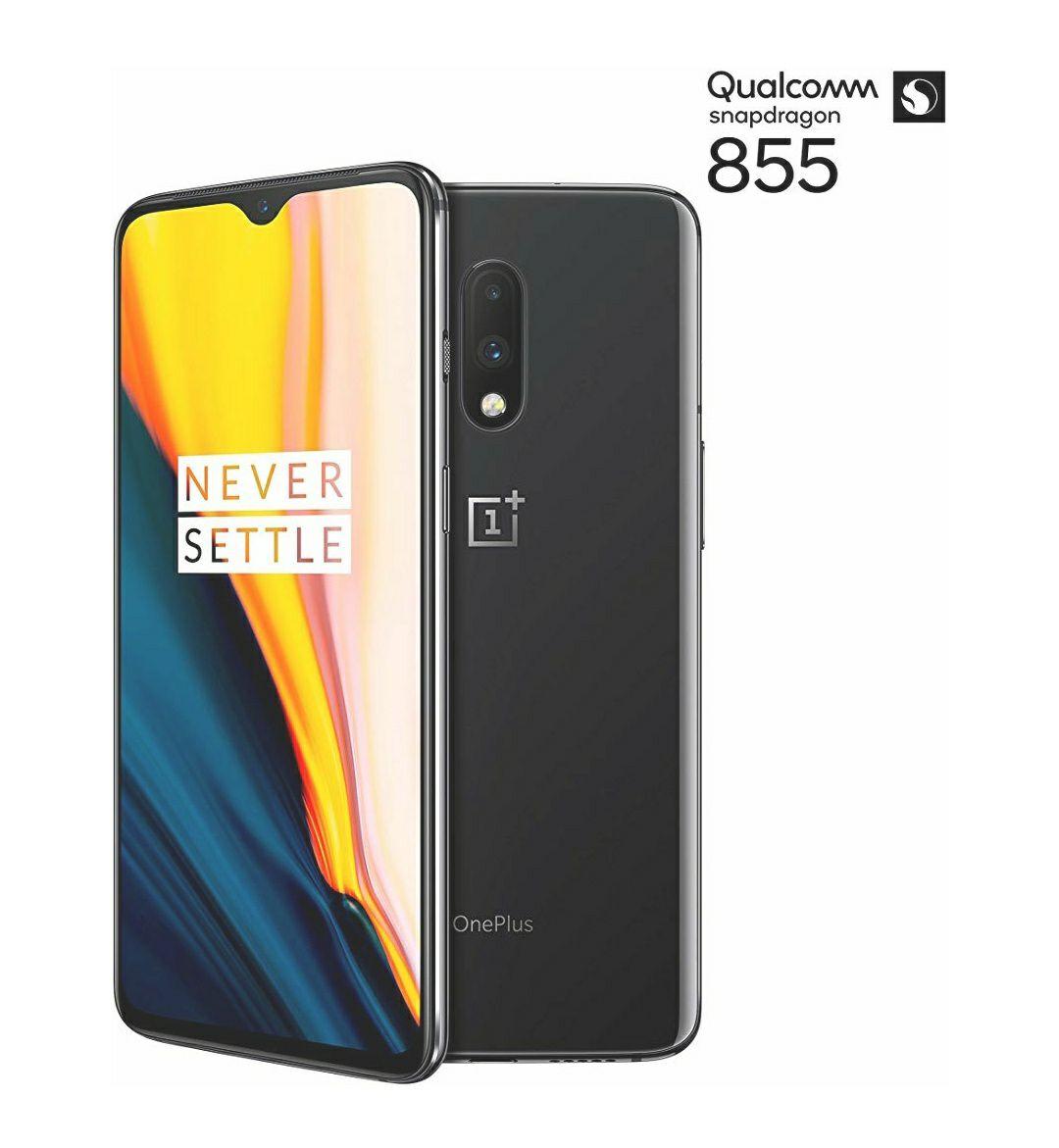 **REDUCED!!** Used Like New OnePlus 7 8 GB RAM 256 GB UK SIM-Free Smartphone - Mirror Grey £359.82 @ Amazon Warehouse