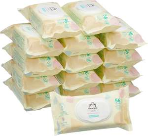 Amazon Brand - Mama Bear Soft Lightly fragranced wipes– Pack of 15 - £10.49 / £14.98 nonprime / £6.84 with S&S