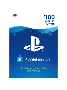 PSN £100 Wallet Top Up [with code for New Credit Accounts] @ Very - £50
