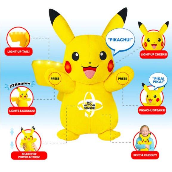 Pokemon Power Action Pikachu / Pokemon Power Action Charmander £19.20 using code @ Argos