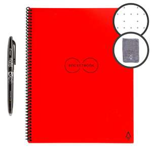 Rocketbook Smart Reusable Journal - Letter A4 - Red £17.65 Prime / £22.14 Non Prime Sold by Atlantic Access Store and Fulfilled by Amazon