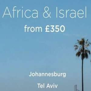 Virgin Atlantic Black Friday deal Africa and Israel from £350.00