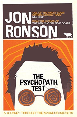 Jon Ronson - The Psychopath Test (Kindle Book) 99p Amazon Black Friday Deal