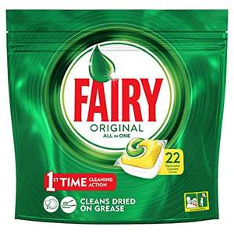22 Fairy dishwasher tablets for 50p in Wilko Aberdare